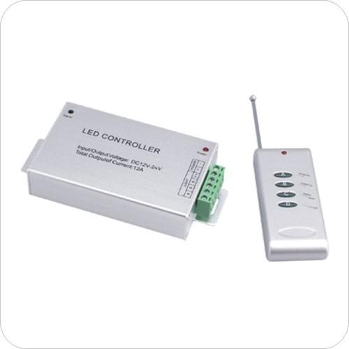 Контроллер RGB ZC-2000RC 12V 3x4A=144Вт (RF).  Пульт управления радиочастотный.Магазин: LED Магазин (Санкт-Петербург)...